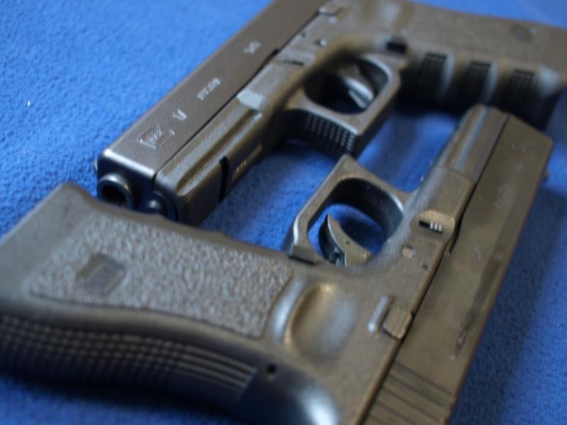 [Reportage photo] Glock 17 (RS vs MARUI) P1011810