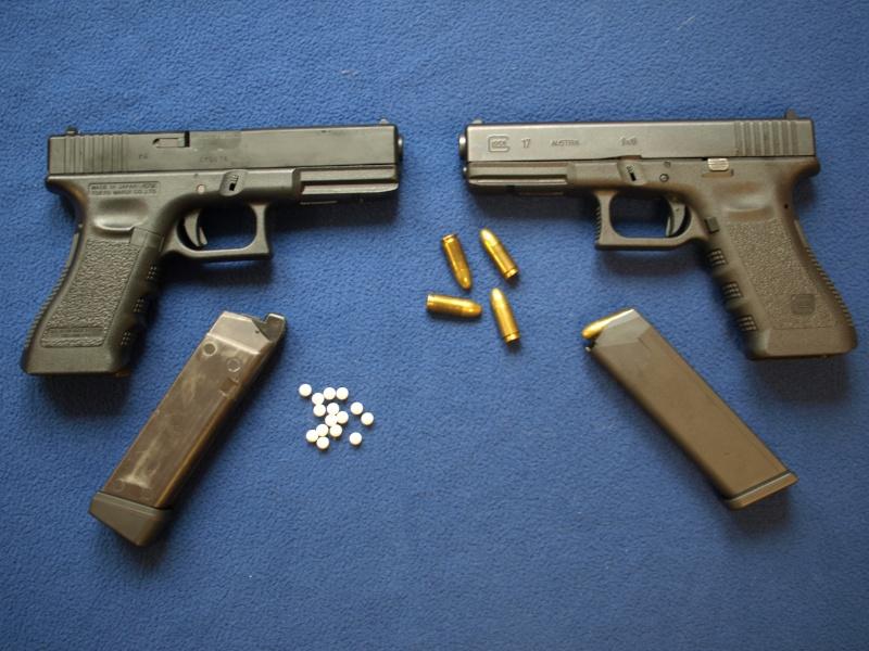 [Reportage photo] Glock 17 (RS vs MARUI) P1011811