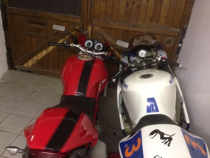 Ducati Monster 996 S4r + sa copine de piste ! 14610912