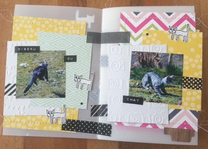 Collection Splendid Sunshine d'Echo Park: un mini tout pimpant et deux pages Pages010