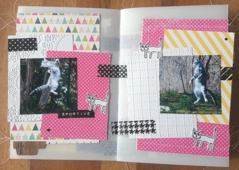Collection Splendid Sunshine d'Echo Park: un mini tout pimpant et deux pages Pages012