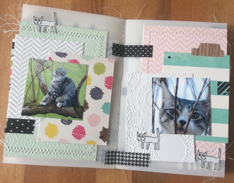 Collection Splendid Sunshine d'Echo Park: un mini tout pimpant et deux pages Pages015