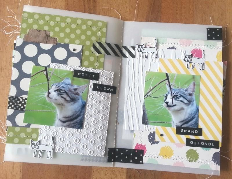 Collection Splendid Sunshine d'Echo Park: un mini tout pimpant et deux pages Pages111