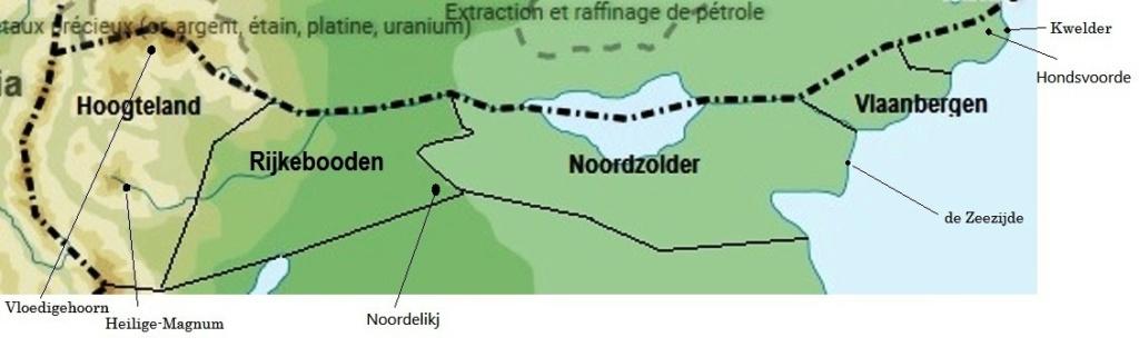 Kwelder - ville côtière du Vlaanbergen Carte_17