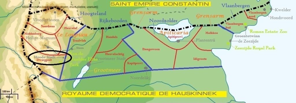 Hoode Stadt - Ville du Hoogteland Carte_23