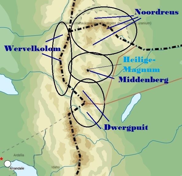 Les Régions Fédérées du Langetong  Massif12