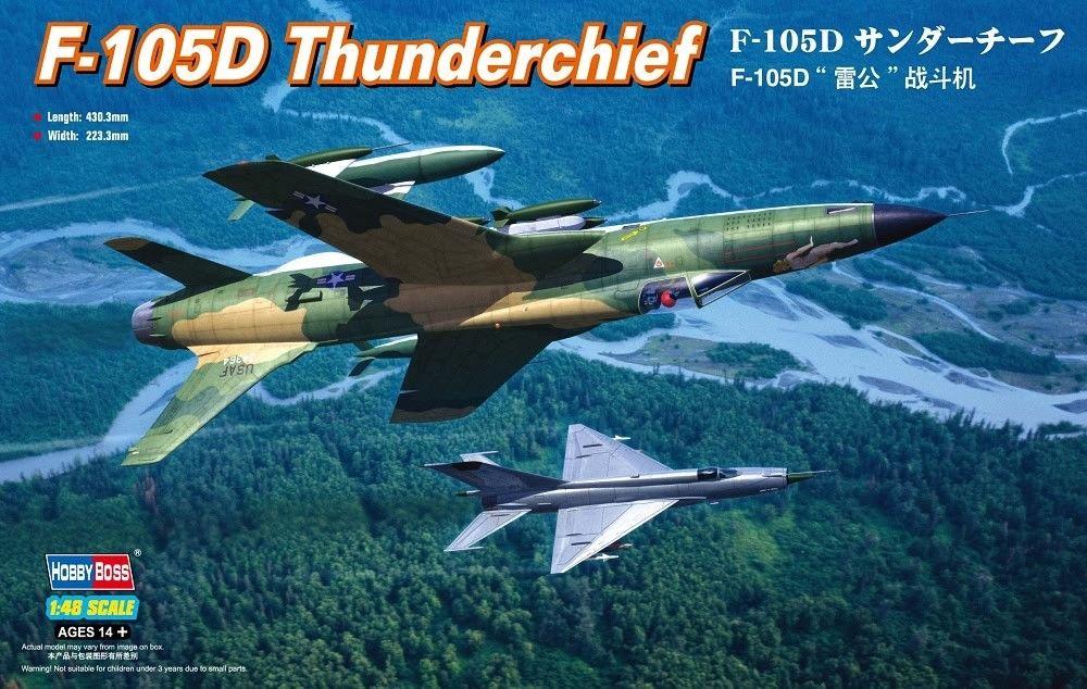 1/48 F105D Memphis Bell II - Hobby boss F-105d10