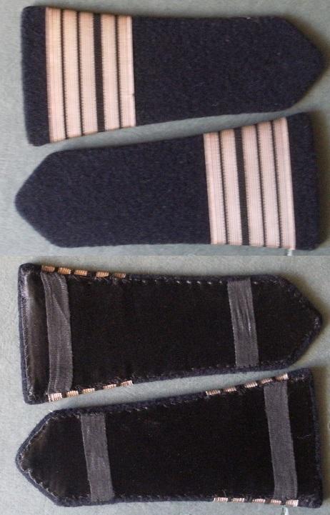 Paire épaulettes Commandant Cavalerie Gourbi19