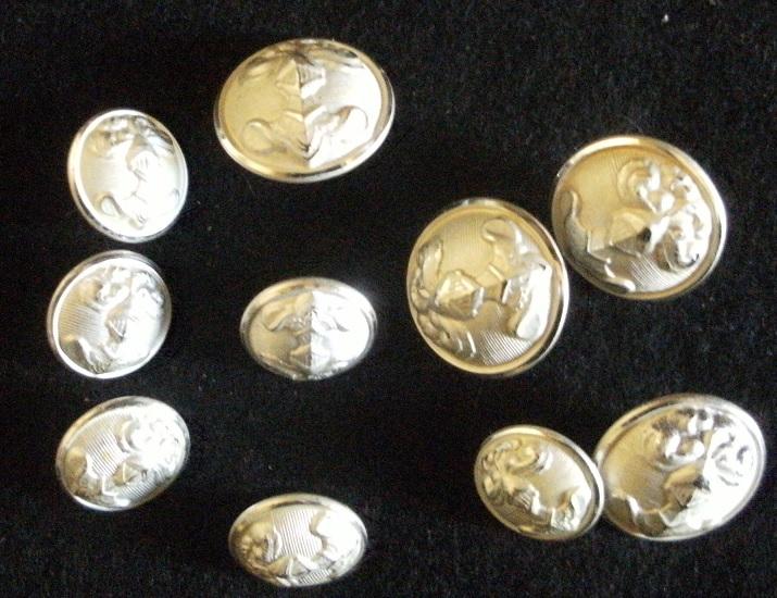 Petit lot boutons Cavalerie Gourbi21