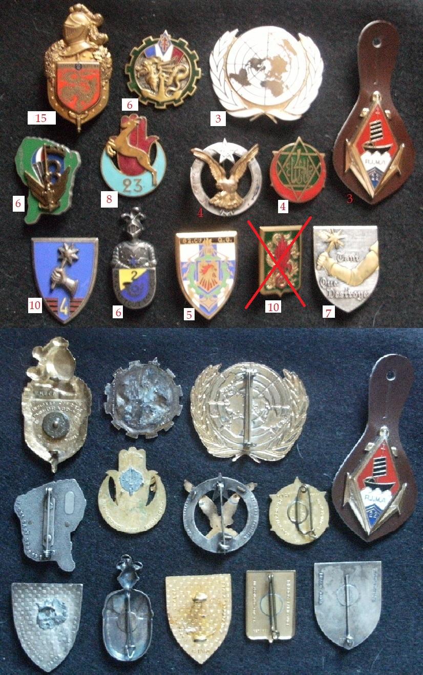 Quelques insignes Gourbi28