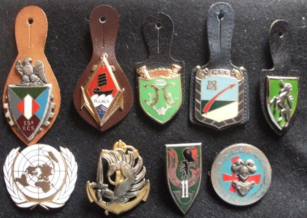 Lot de 9 insignes Gourbi29