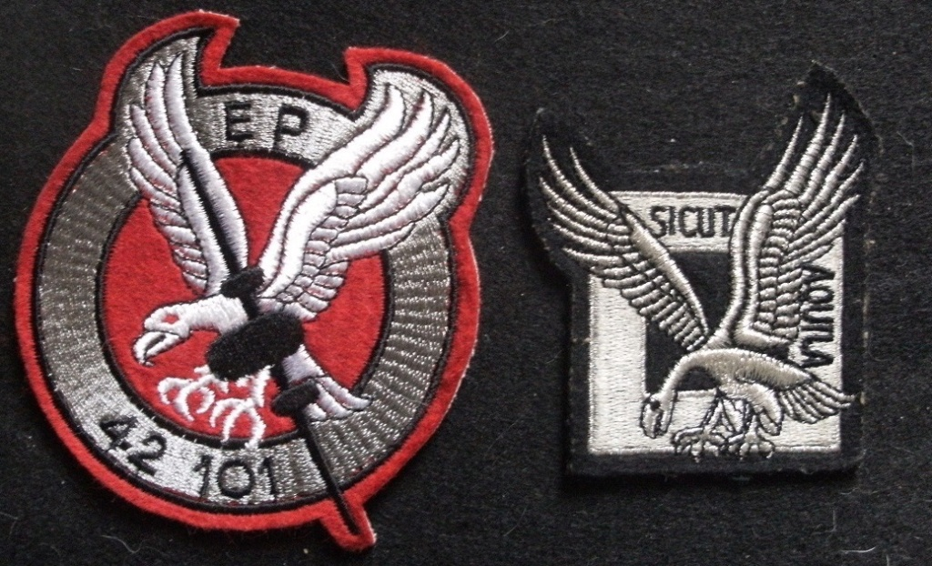 Deux écussons Commandos de l'Air - Prix baissé Gourbi30