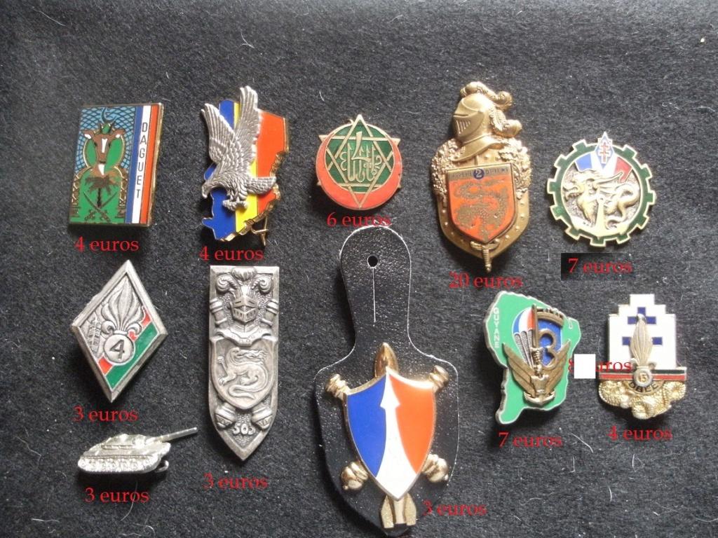 Quelques insignes divers Gourbi37
