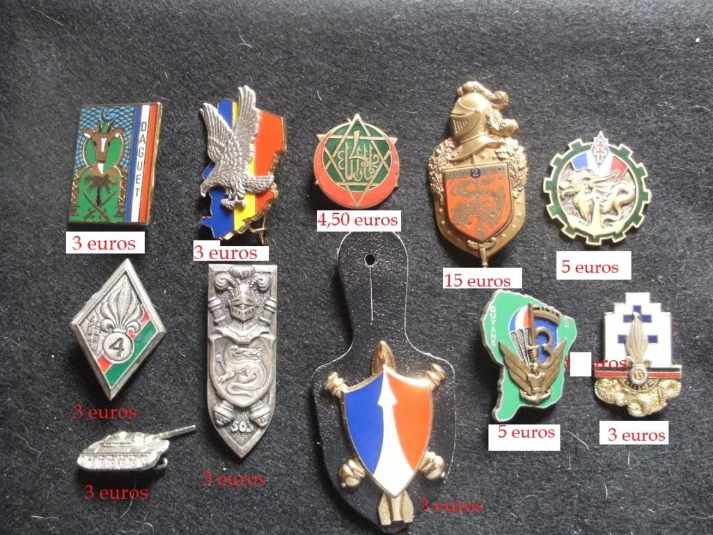 Quelques insignes divers Gourbi48