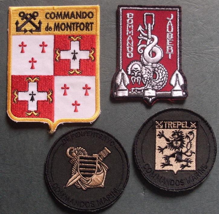 Ecussons Commandos Marine  -ALPINS-OCT2 PRIX BAISSE (TERMINE) Patchs10