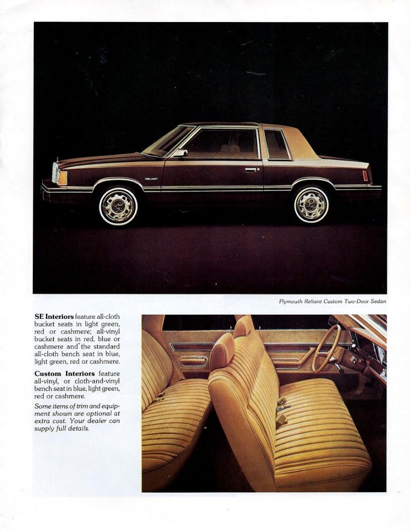 Plymouth Reliant (k-car) 1981_p19