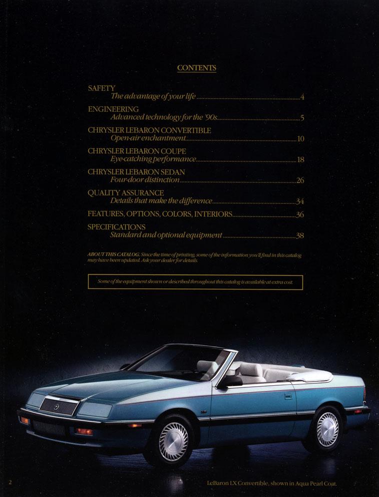 Brochures LeBaron 1992_c11
