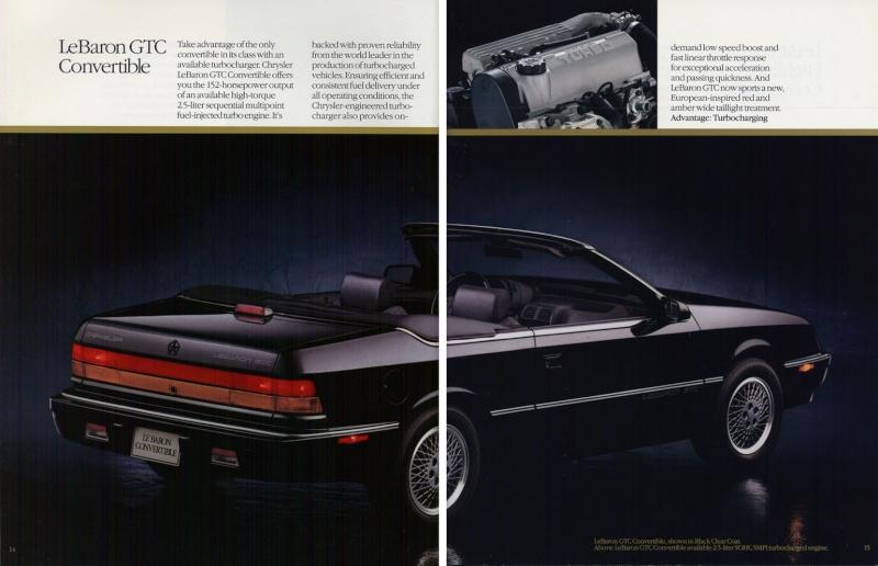 Brochures LeBaron 1992_c20