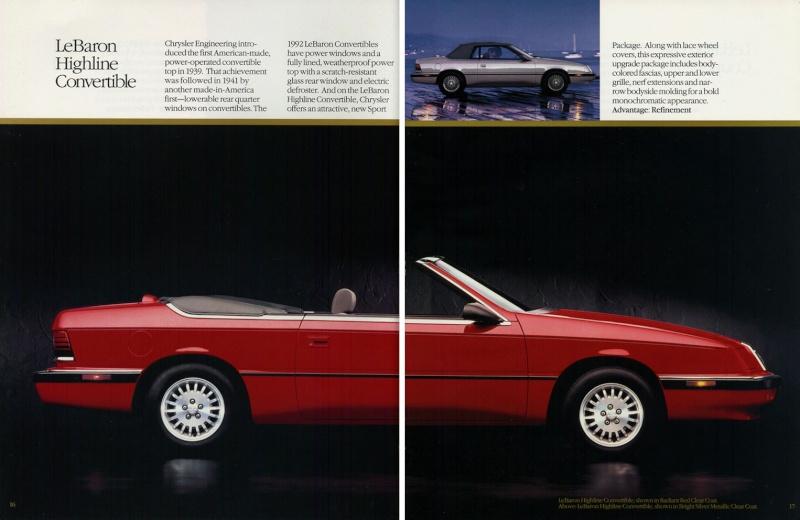 Brochures LeBaron 1992_c21