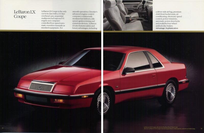Brochures LeBaron 1992_c22