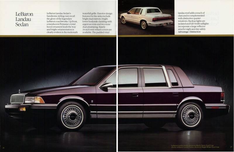 Brochures LeBaron 1992_c26