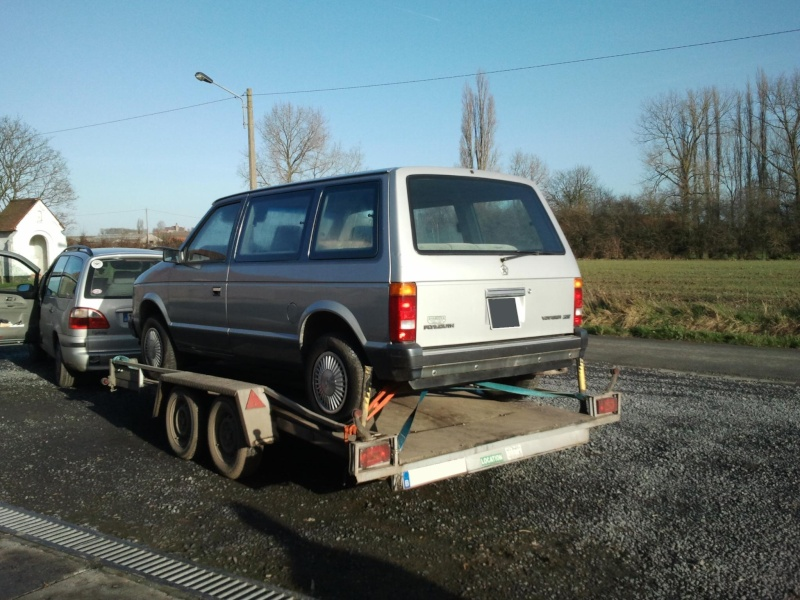 Mon Plymouth voyager 84 Photo497