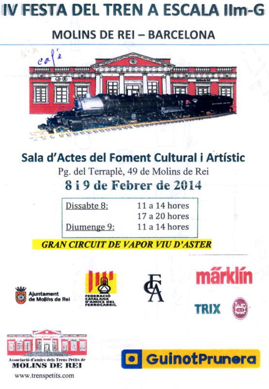 MOLINS de REI  Catalogne du Sud! Affich17