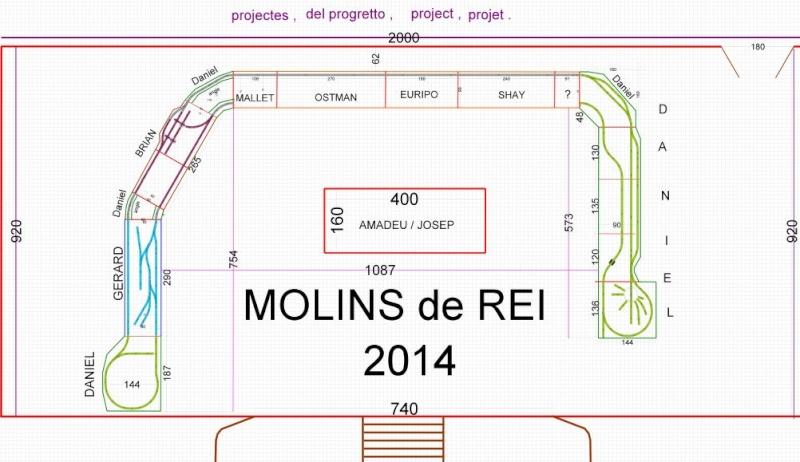 MOLINS de REI  Catalogne du Sud! Plan12