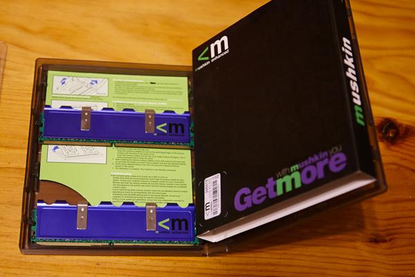 [Vendu] DDR2 PC8500 : 2*2 Go Corsair XMS2 + 2*1Go Mushkin Grx_0810