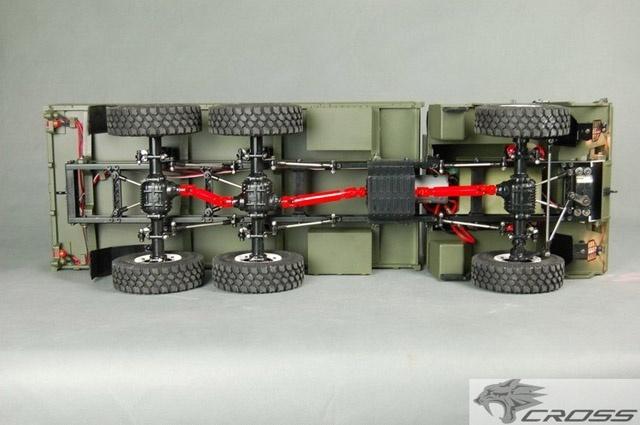 CROSS-RC  Camions 6x6 et 8x8 1310