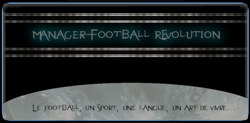 Manager Football Révolution