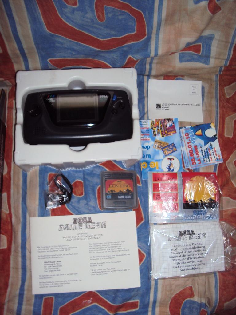 ech game gear pack roi lion Dsc04711
