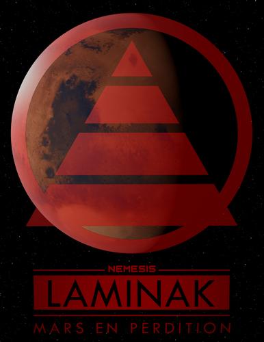 Laminak : Mars en perdition Affich10