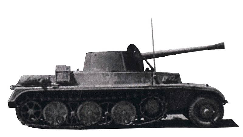 Semi chenillé: Panzer Selbstfahrlafette II 7,5 cm Kan. L/41 auf Zgkw.5t HKP902 356310