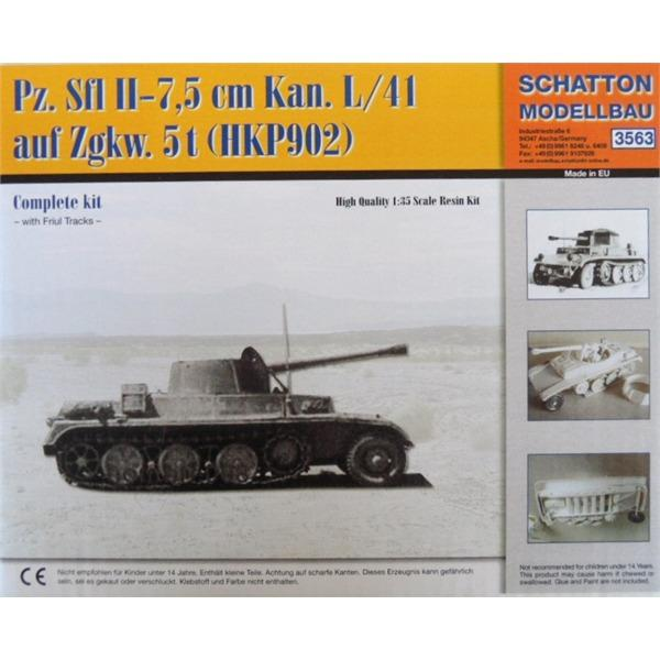 Semi chenillé: Panzer Selbstfahrlafette II 7,5 cm Kan. L/41 auf Zgkw.5t HKP902 Sch35610