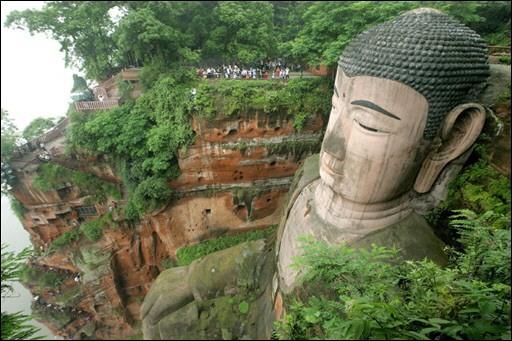 grand bouddah de leshan, sichuan, chine Boudda10