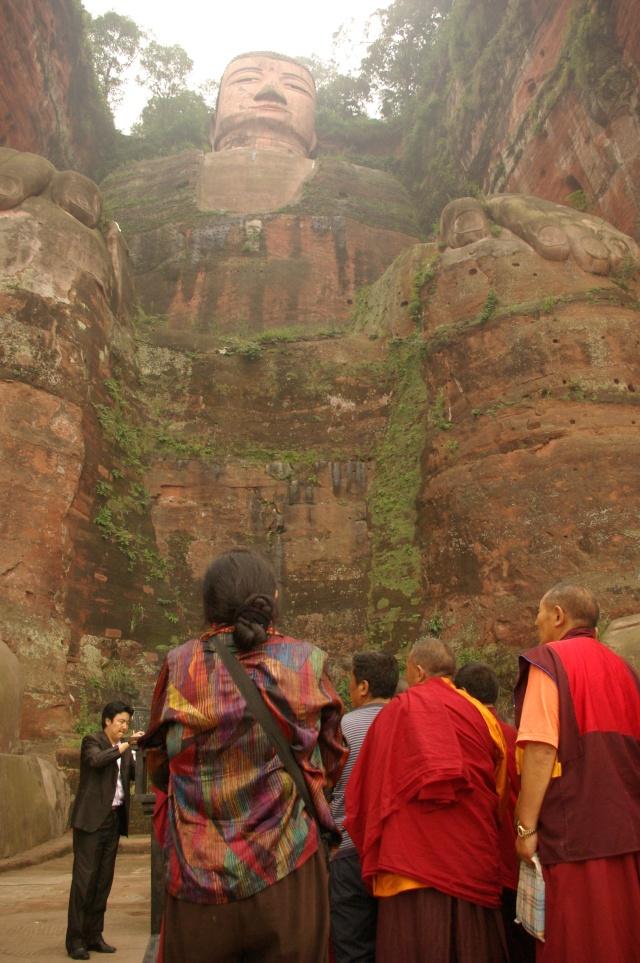 grand bouddah de leshan, sichuan, chine Boudda12
