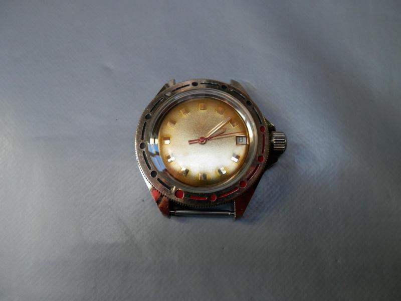 vostok or cadran vierge et fond transparent P2030311