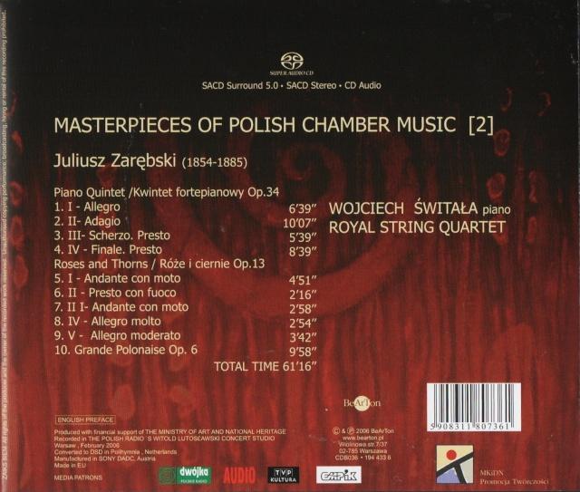 Juliusz ZAREBSKI (1853 - 1885) Back10