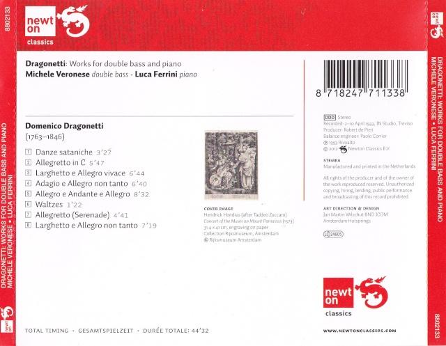 Domenico Dragonetti (1763-1846) Back8810