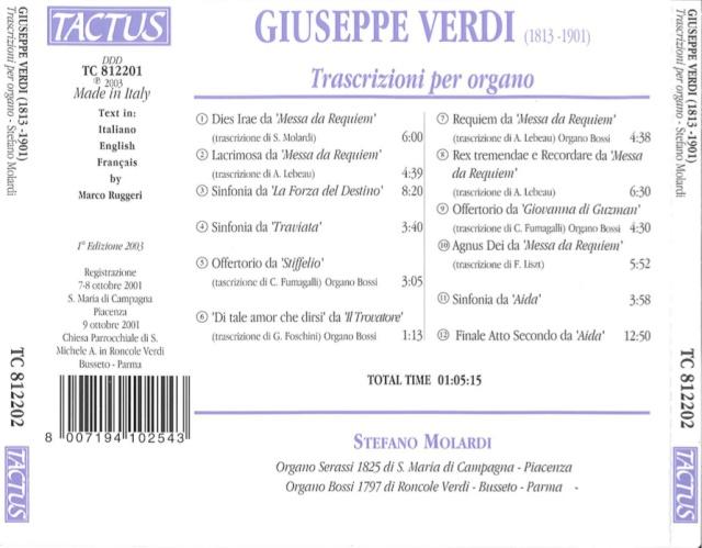 Verdi - Giuseppe Verdi (1813-1901) Back_c10