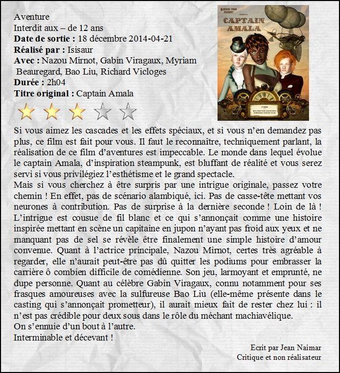 [Clos] 7ème art - Finale - Page 8 Critiq12