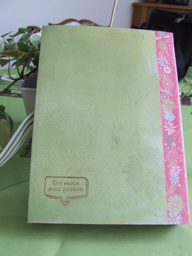 carnet de notes scrappé Kdo10015
