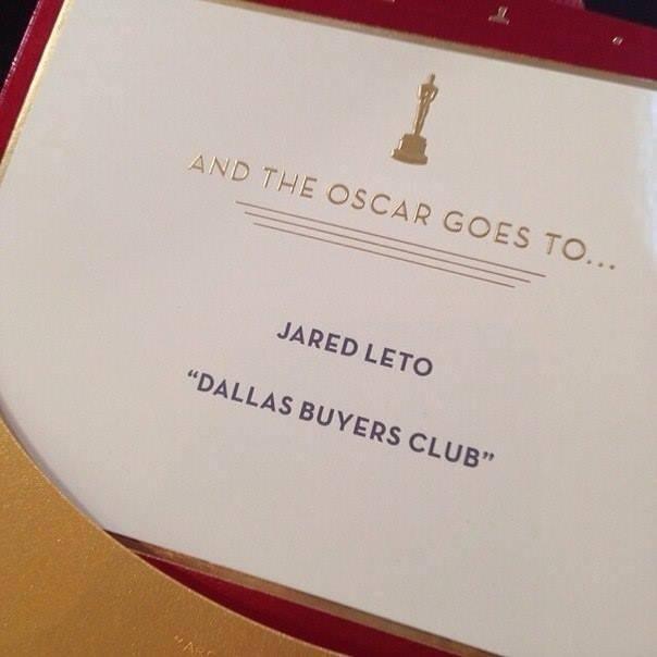 Jared Leto- @Ceremonie des Oscars 2014 19040710