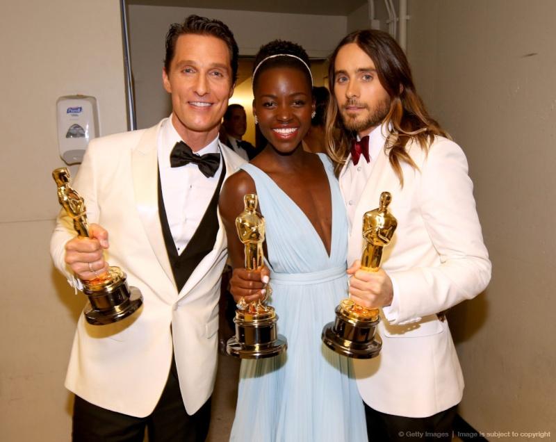 Jared Leto- @Ceremonie des Oscars 2014 C1358210
