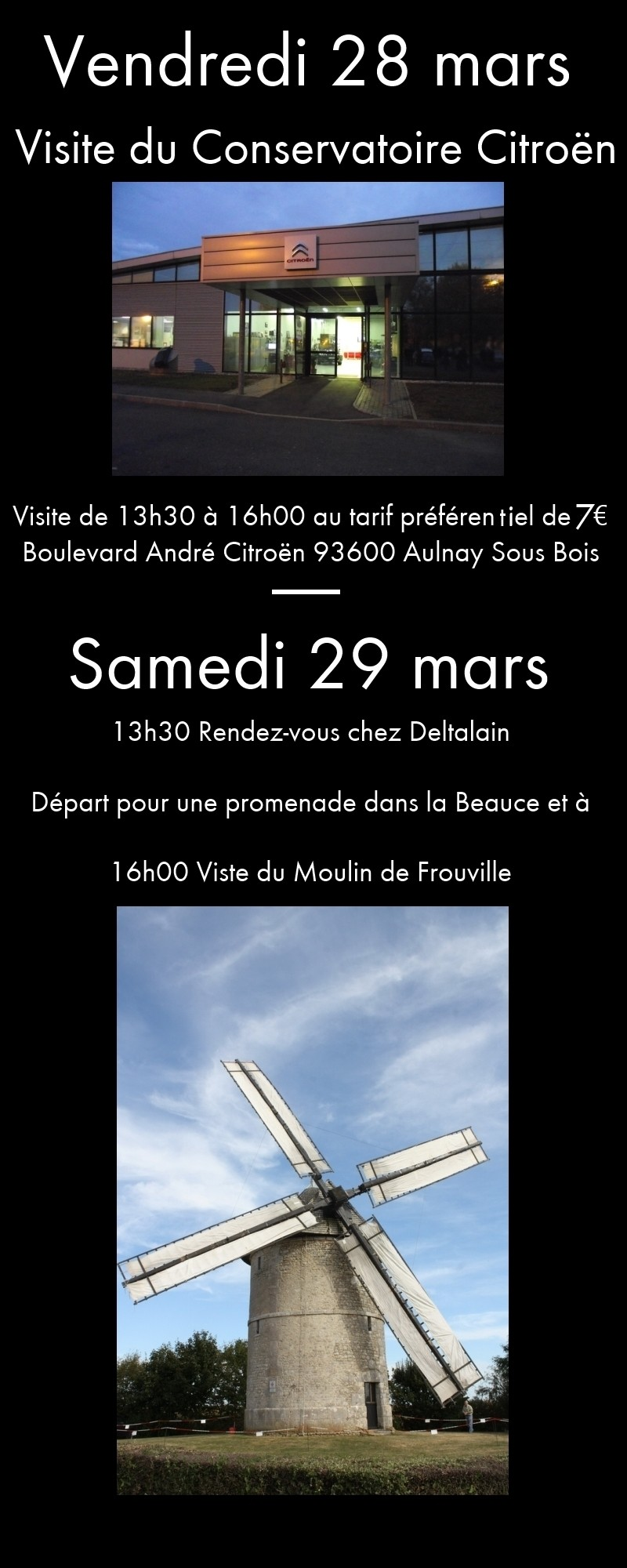 [28-29-30 mars] Sortie GSAventure et AG extraordinaire Ag112