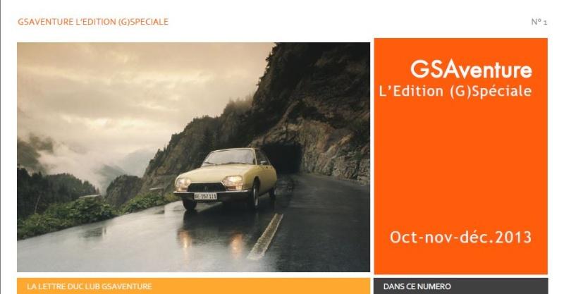 La Newsletter de GSAventure Captur20
