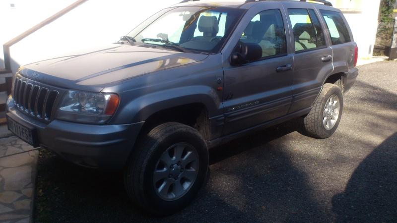 Cales de réhausse pour Jeep Grand Cherokee Dsc_0611