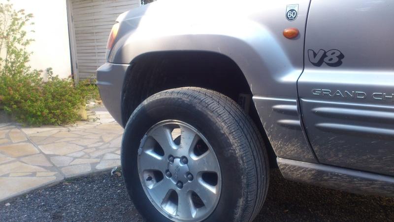 Cales de réhausse pour Jeep Grand Cherokee Dsc_0612