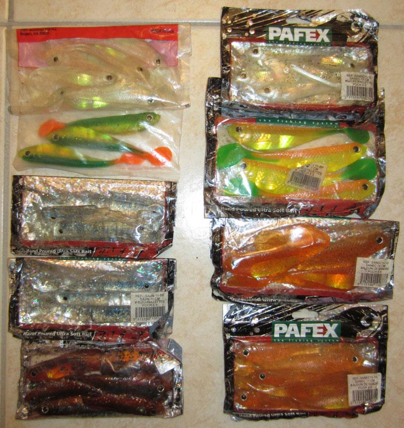 Vends shads Pafex Sanec et Sajin Patex10